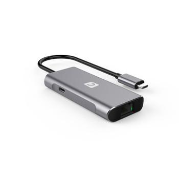 VersaHub SuperSpeed 10Gbps (USB 3.2 Gen 2) 4-Port Hub - Type-A x 2 Type-C x 1 & LAN