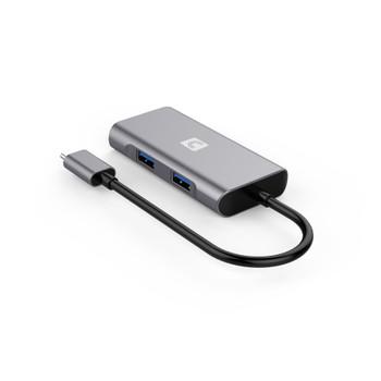 VersaHub SuperSpeed 10Gbps (USB 3.2 Gen 2) 4-Port Hub - Type-A x 3, Type-C x 1