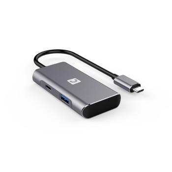 VersaHub™ SuperSpeed 10Gbps (USB 3.2 Gen 2) 4-Port Hub - Type-A x 3, Type-C x 1