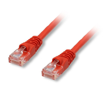 Cat6 550 Mhz Snagless Patch Cable 50ft Red