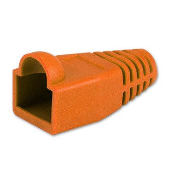 Orange RJ45 Colored Boot