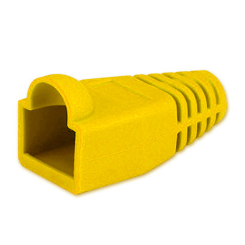 Yellow RJ-45 Colored Boot