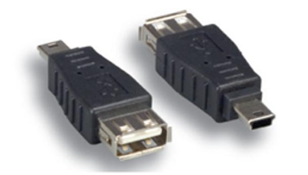 USB A Female To Mini B 5Male Adapter