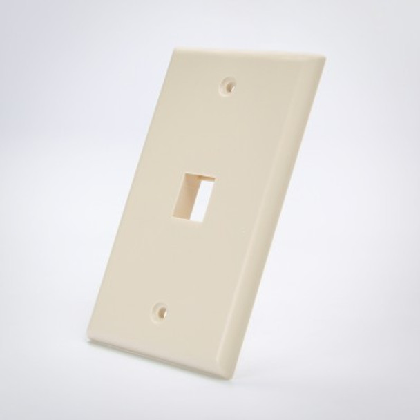 Keystone 1 Port Face Plate Beige