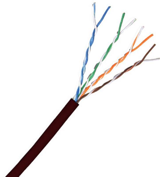 Cat 5e 350MHz Solid Black Bulk Cable 1000ft