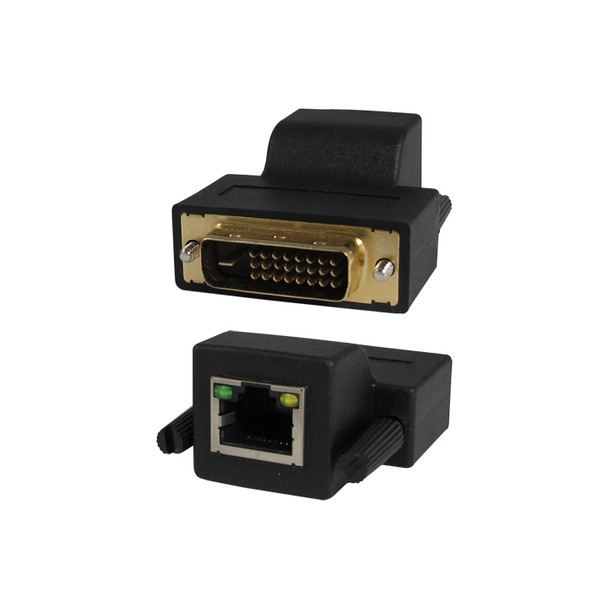 DVI Extender over single CAT5 cable up to 230ft (70m)