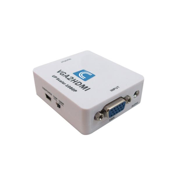 VGA to HDMI and Audio Scaler Converter Box