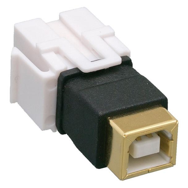 Keystone Jack Feedthrough Module USB 2.0 B Female To B Female