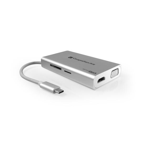 VersaDock USB-C 4K Portable Docking Station with HDMI, USB 3.0 & VGA