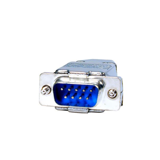 9 Pin Plug with Hood Connector