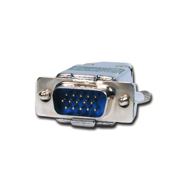 HD15 Pin Plug with Hood Connector