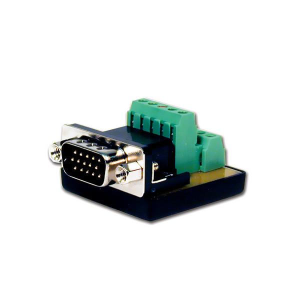 HD15 Pin Male to Terminal Block