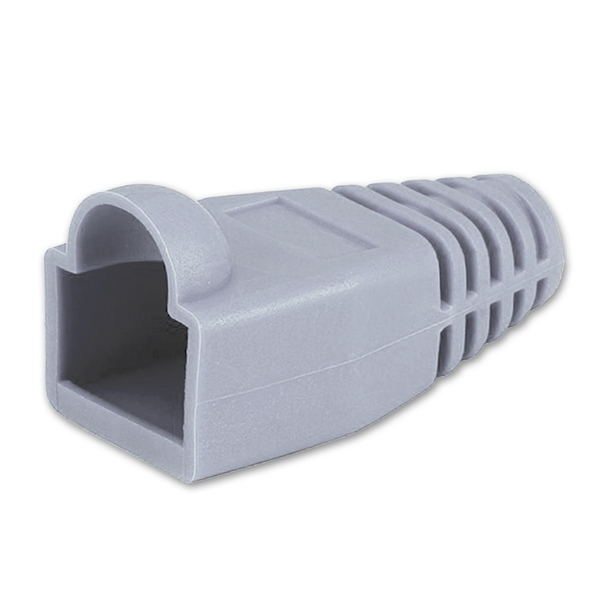 Grey RJ45 Colored Boot