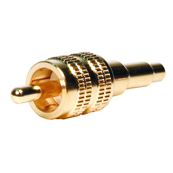 Premium True 75 Ohm RCA Plug, 26 awg Mini coax