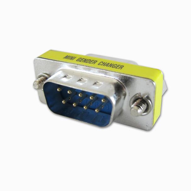 DB9 pin plug to plug computer adapter