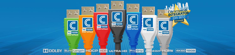 MicroFlex 4K HDMI Cables