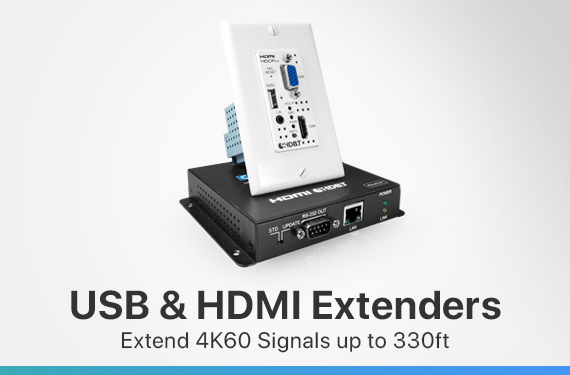 USB and HDMI Extenders