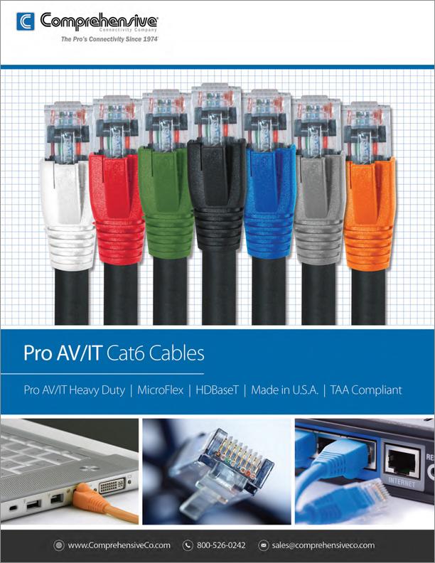 Pro AV/IT Cat6 Cables