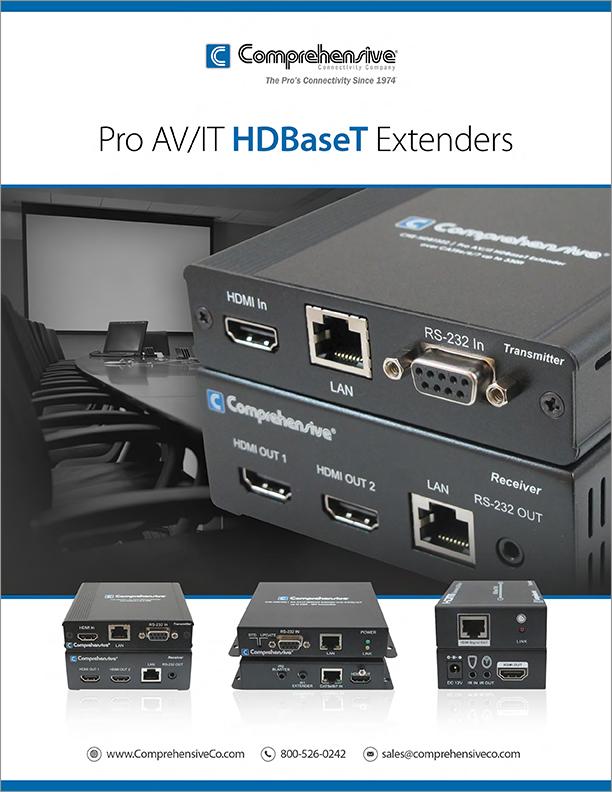 Pro AV/IT HDBaseT Extenders