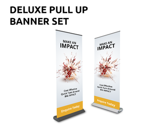 Pull Up Banners - Deluxe