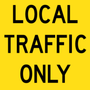 T9-48 - Local Traffic Only - 600x600mm