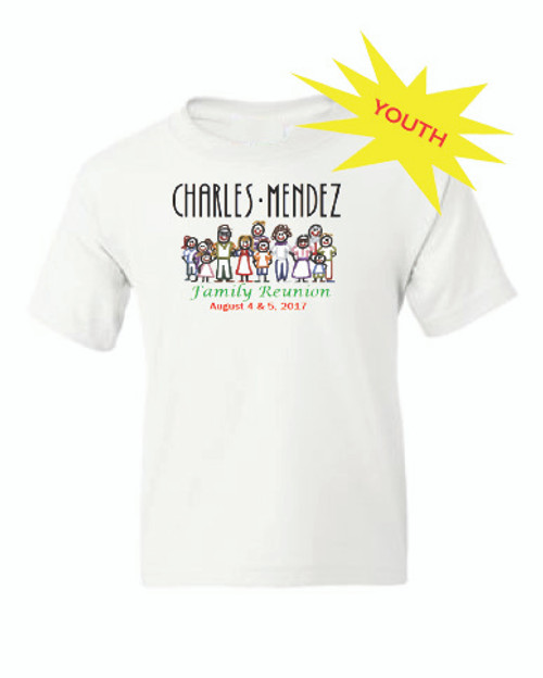 Charles Mendez Reunion Youth Tee