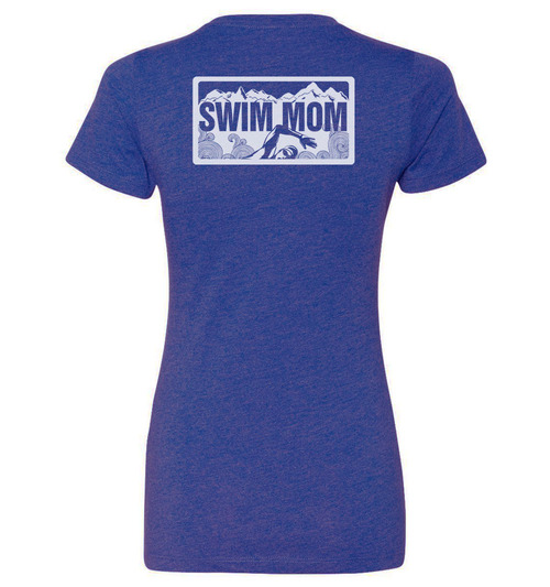 FSA Swim Mom  CVC V Neck