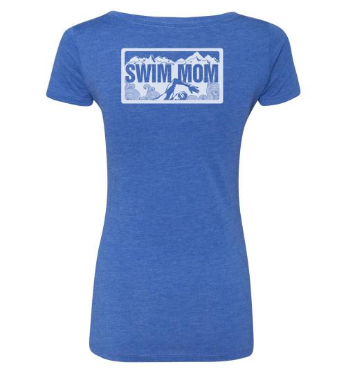 FSA Swim Mom Triblend Scoop Neck