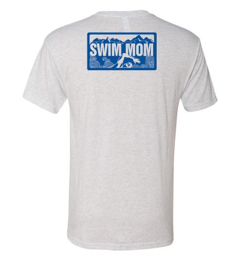 FSA Swim Mom Triblend Crew Neck