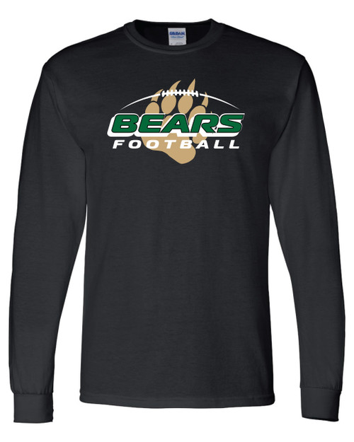 Bear Creek Football Long Sleeve Tee
