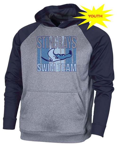 Stingrays Youth Performance Pullover Hoodie