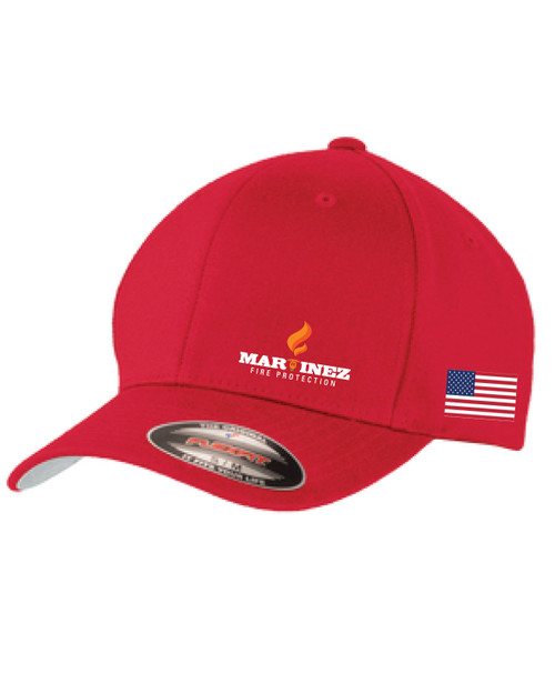 Red Flex Fit Hat