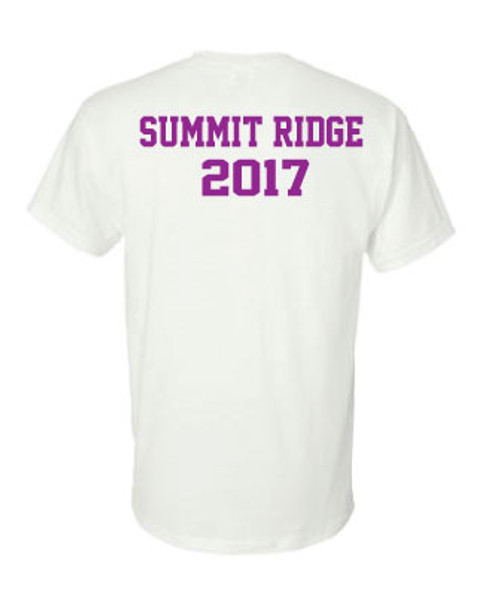 SRMS Make a Difference Tee - PURPLE