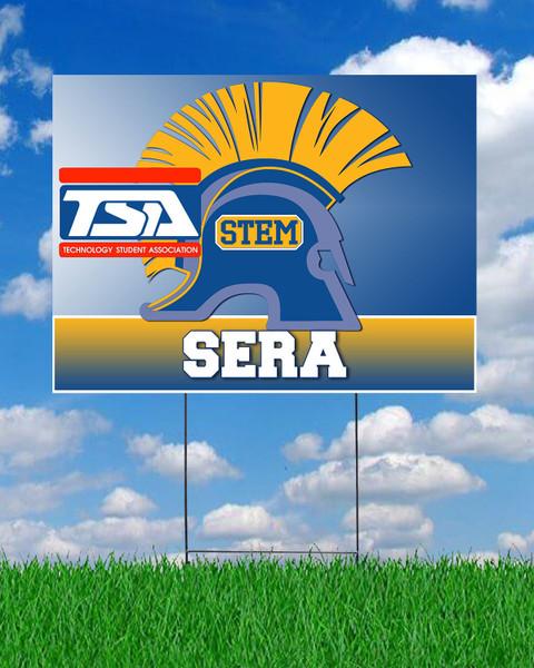 STEM TSA Yard Sign