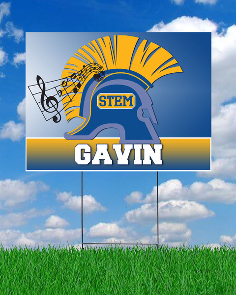 STEM Band Yard Sign