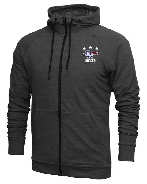 DRHS Soccer Triblend Full Zip Jacket