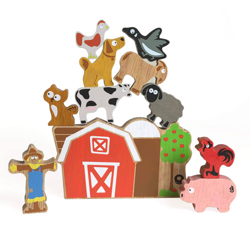 BALANCE BARN - FAMILY GAME & PLAYSET