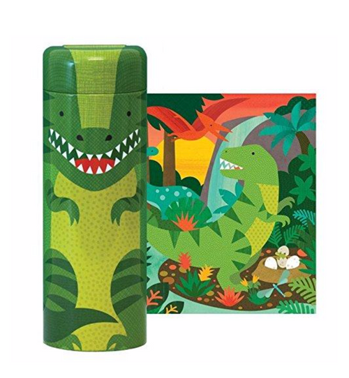 64-Piece Tin Canister Puzzle