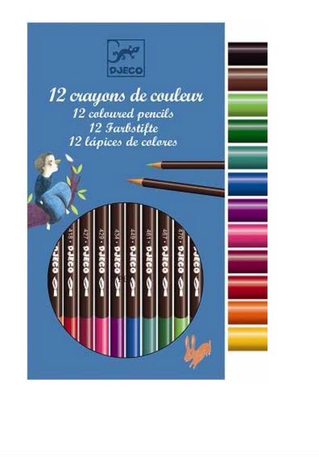DJeco Watercolor Pencils Classic