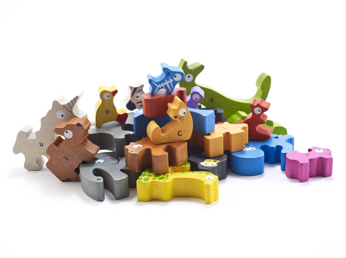 Animal Parade Puzzle A to Z - Jumbo Version