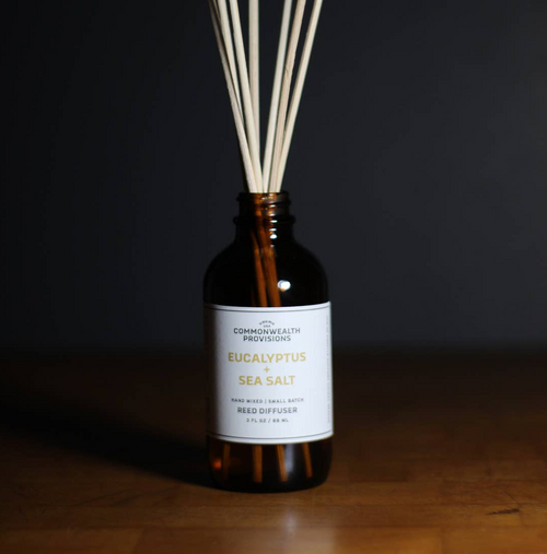 Reed Diffuser - Eucalyptus + Sea Salt