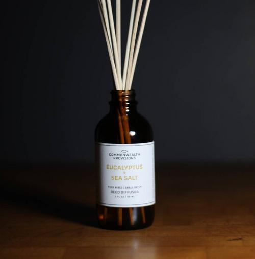 Reed Diffuser - Eucalyptus + Sea Salt