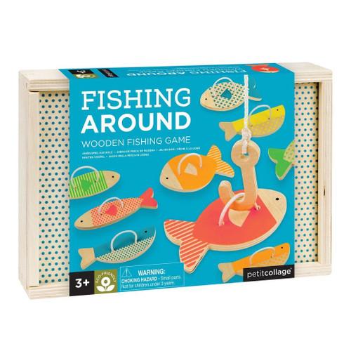 FISHING AROUND WOODEN GAME