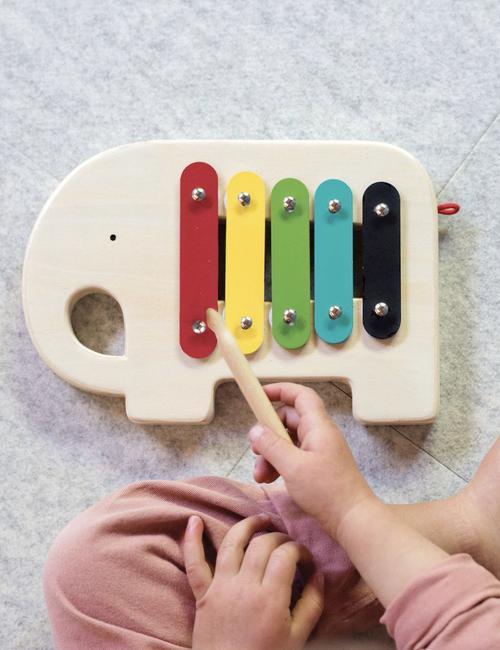 Wooden Elephant Xylophone