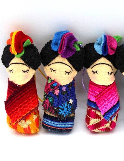 Frida Doll Ornament