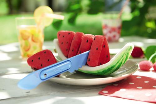 HABA Biofino Watermelon Washable Plush Play Food with 5 Slices