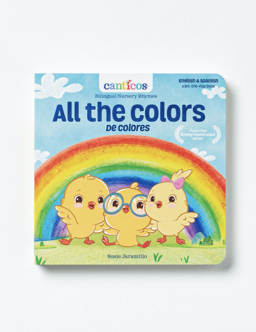 Canticos Bilingual Nursery Rhymes Board Books