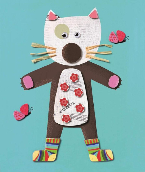 Le Petite Artist Collages for Little Ones