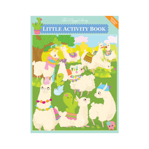Lama Glama Llamas Little Activity Book