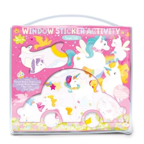 Window Sticker Activity- Unicorn Land